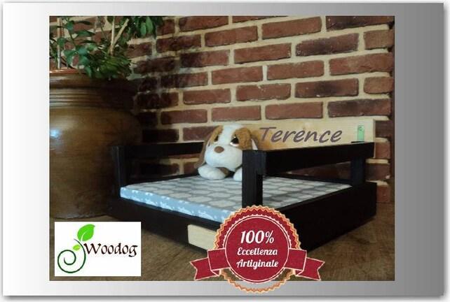 Pavimento In Gomma Per Box Cani : Terence lettino per cani o gatti etsy