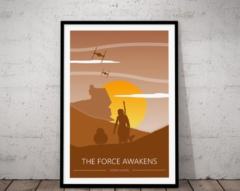 Camera Da Letto Star Wars : Star wars poster art stampa film a new hope il impero colpisce etsy