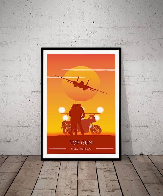 Top Gun Movie Film Photo Print Poster Picture Wall Art Tom Cruise