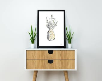 "Poster ""PINEAPPLE"" - 30 x 40"