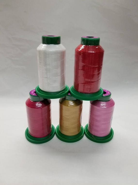 Isacord Embroidery Thread Valentines Kit Etsy
