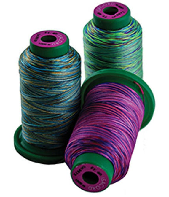 Isacord Embroidery Thread Variegated Etsy