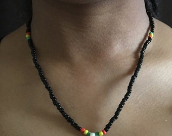 Ghana saber-tooth necklace