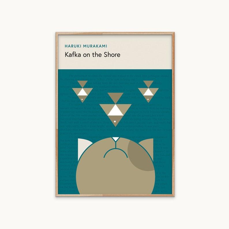 Kafka on the Shore poster | Haruki Murakami poster | book cover print |  DIGITAL DOWNLOAD