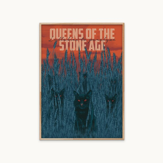 Queens Of The Stone Age 1 American Rock Band Poster Music Homme Star Billards