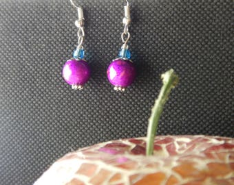 Quirky and colourful earrings