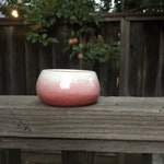 Ombre succulent planters with drainage hole
