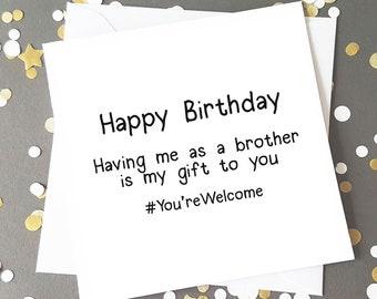 Blunt Birthday Card