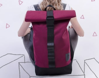 7fe0743414 Backpack roll top