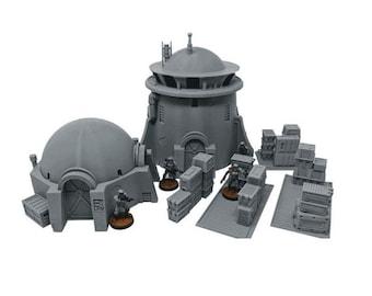 Desert Starter Bundle / Imperial Terrain Licensed On-Line Printer / Print to Order