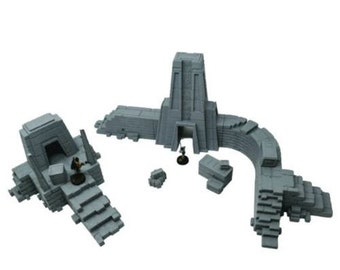 Ancient Ruins Bundle / Imperial Terrain Licensed On-Line Printer / Print to Order