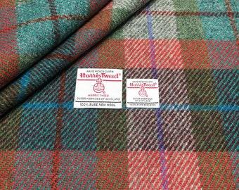 Naranja Harris Tweed Botones cubierto de tela Conjunto de 6 o 12