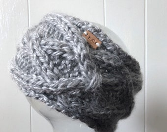 Twisted Celtic Cable Headwarmer
