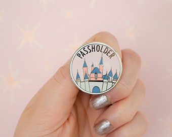 Sleeping Beauty Castle Passholder Pin