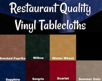 Table Cloth Vinyl Tablecloth Etsy