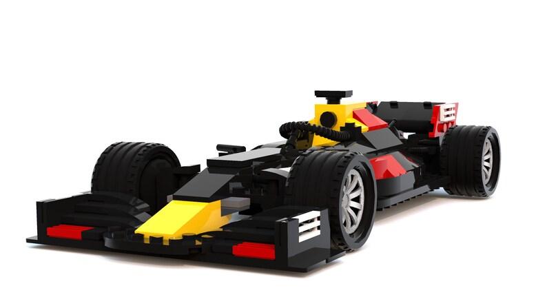 Formula 1 Car 2019 - Custom LEGO Instructions