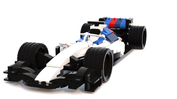 Formula 1 Car 2018 Season Custom Lego Instructions Etsy