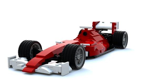 Formula 1 Car 20172018 Variant Custom Lego Instructions Etsy