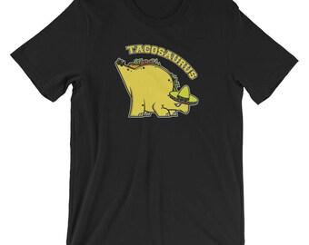 Tacosaurus Dino T-shirt Foodie Tee