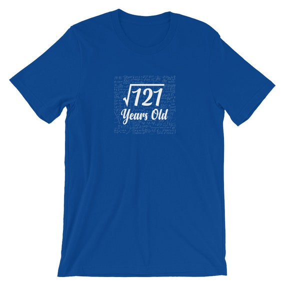 160d69520 Square Root Of 121 11th Birthday 11 Years Old T-shirt | Etsy