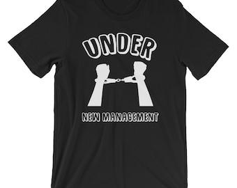 Bachelor Party Under New Management T-shirt