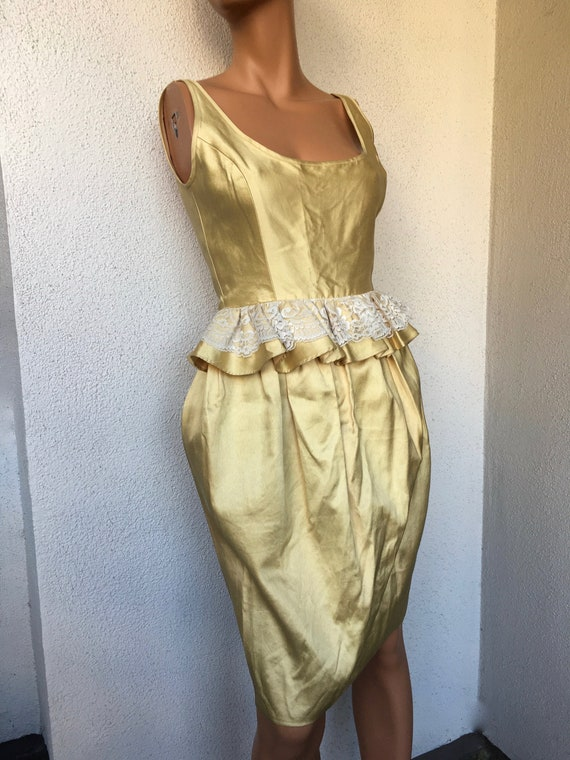 Gorgeous Gold Designer Dress