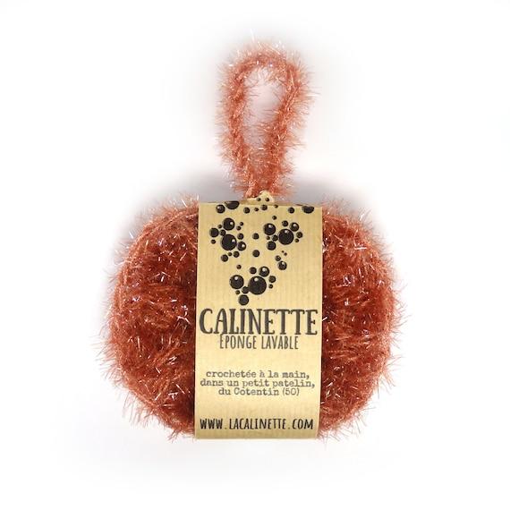 """Lavable """"La Calinette"""" clay red sponge"""