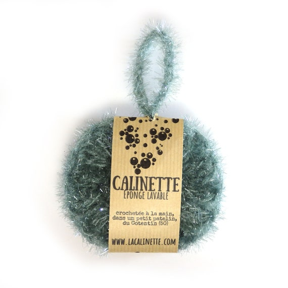 "Washable ""la calinette"" green eucalyptus sponge"