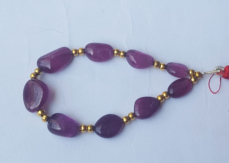 Precious Ruby Beads ~~~ Smooth Oval Beads ~~~ 66 Carat ~~~ 1 Strand ~~~ 9 Pieces~~~ Natural Gemstone ~~~ Wholesale price