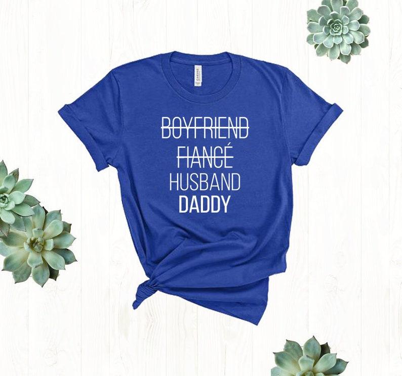 fe0d9d40 New Dad Shirt Pregnancy Announcement Shirt Boyfriend Fiance | Etsy