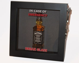 Birthday Present Emergency Gift Box Fun Novelty 3d Frame Keepsake Ideal For Him Her Men Women Male Female Friend Mate Work Colleague