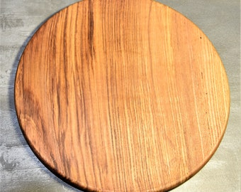 Ash wood dish underside, practical and ecological