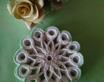 Hand Crocheted Coasters