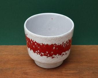 Hillbilly McCoyShawnee Garden Gnome Planter Elf Vintage American Art Pottery 1550/'s Pottery Ivory Ceramic