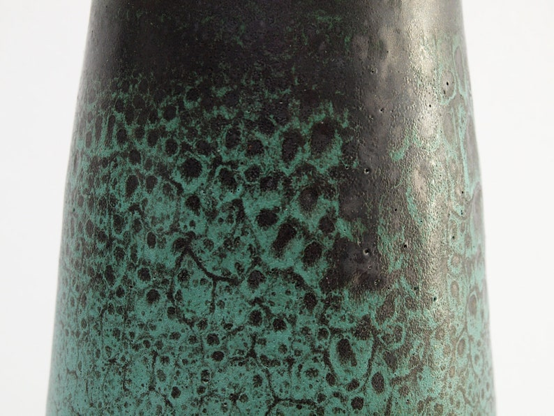 Fantastic huge ALBERT KIESSLING Vase Midcentury East German Studio Ceramic Hand Made Vintage GDR