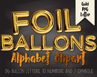 Silver balloon letters,balloon letters,Gold Foil Balloons,Balloons Clipart,Foil Letters,Balloon Font,Gold Alphabet,silver alphabet,Gold Foil