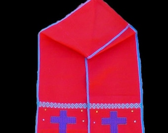 Priest Stoles - PS02 - Red