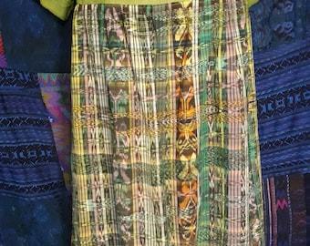 Huipil Dress Size Large - Oct15b