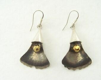 titanium earrings quadrant