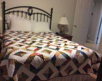 Country plaids and checks quilt