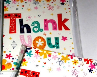 12 packs THANK YOU CARDS in packs of 6 X 12 Packs- just 25p Per 6 pack - We also have birthday cards / christmas cards / thank you cards