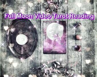 Full Moon Tarot reading tarot ritual kit tarot full deck moon tarot, moon cycle moon guidance tarot moon phase moon oracle custom moon phase