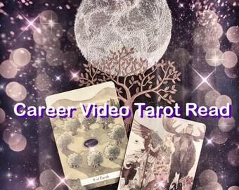 Career Tarot Video Reading, Career Reading, Career Psychic, Career Predictions, Video Tarot Reading, Psychic Career Reading, Psychic card