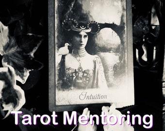 Tarot Mentoring, Tarot Teaching, learn tarot, learn tarot with me, tarot guide, tarot mentor, tarot teacher, learn tarot deck psychic medium