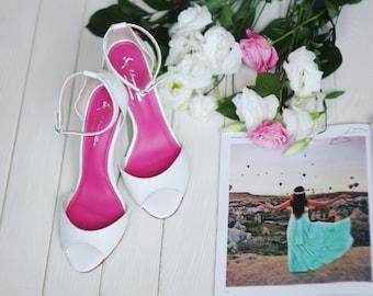 Wedge Heels Sandals  / Leather Shoes  / Wedding Shoes / Platform Shoes / Woman Shoes / Fashion Shoes / Handmade Shoes / Unigue Shoes /