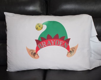 Elf Pillowcase Etsy