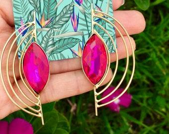 Gold Plated Handmade Earrings