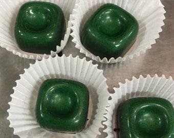 Mint Chocolate Truffles - Handmade