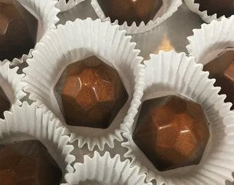 Caramel chocolate Truffles - Handmade