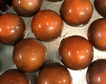 Orange Cream Truffles - 6 pieces